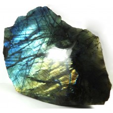 Labradorite 1 Face Polished Blue Gold Green