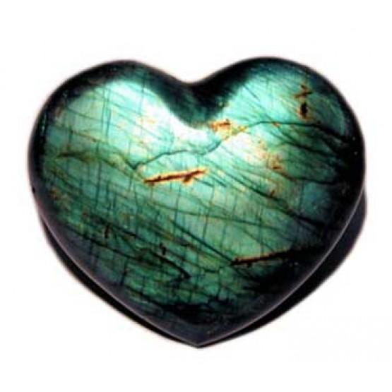 Labradorite Heart 3.1cm