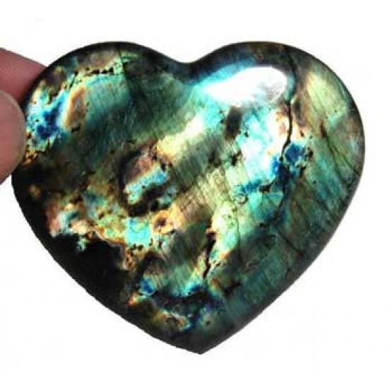 Labradorite Heart 4.9cm