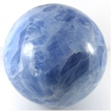 Larger Blue Calcite Sphere