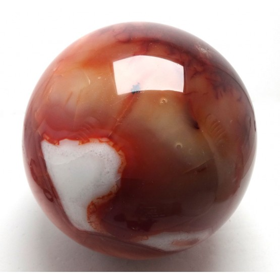 Carnelian polished Sphere