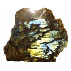 Labradorite 1 Face Polished Blue Gold Colour