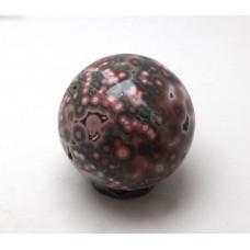 Orbicular Jasper Sphere