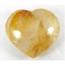 Golden Healer Quartz polished Heart