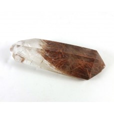 Part Polished Rutile Quartz Crystal Point