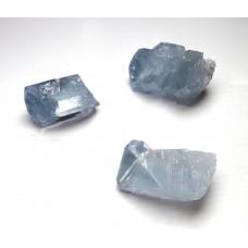 3 x Celestite Crystal Points