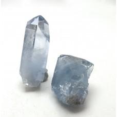 Celestite Crystal Points x 2