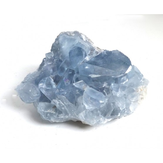 Celestite Geode with Translucent Crystals