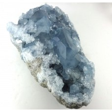Celestite Cluster with Larger Crystal